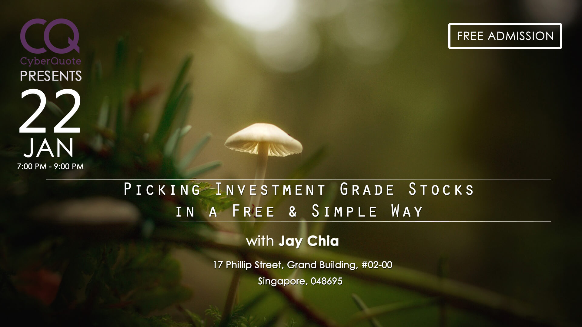 Free Seminars FB Event Cover MIW Picking Investment Grade Stocks In A Free And Easy Way