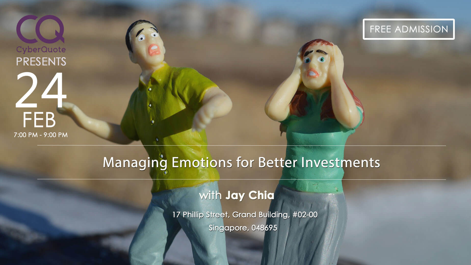 Free Seminars FB Event Cover MIW Managing Emotions for Better 24 Feb