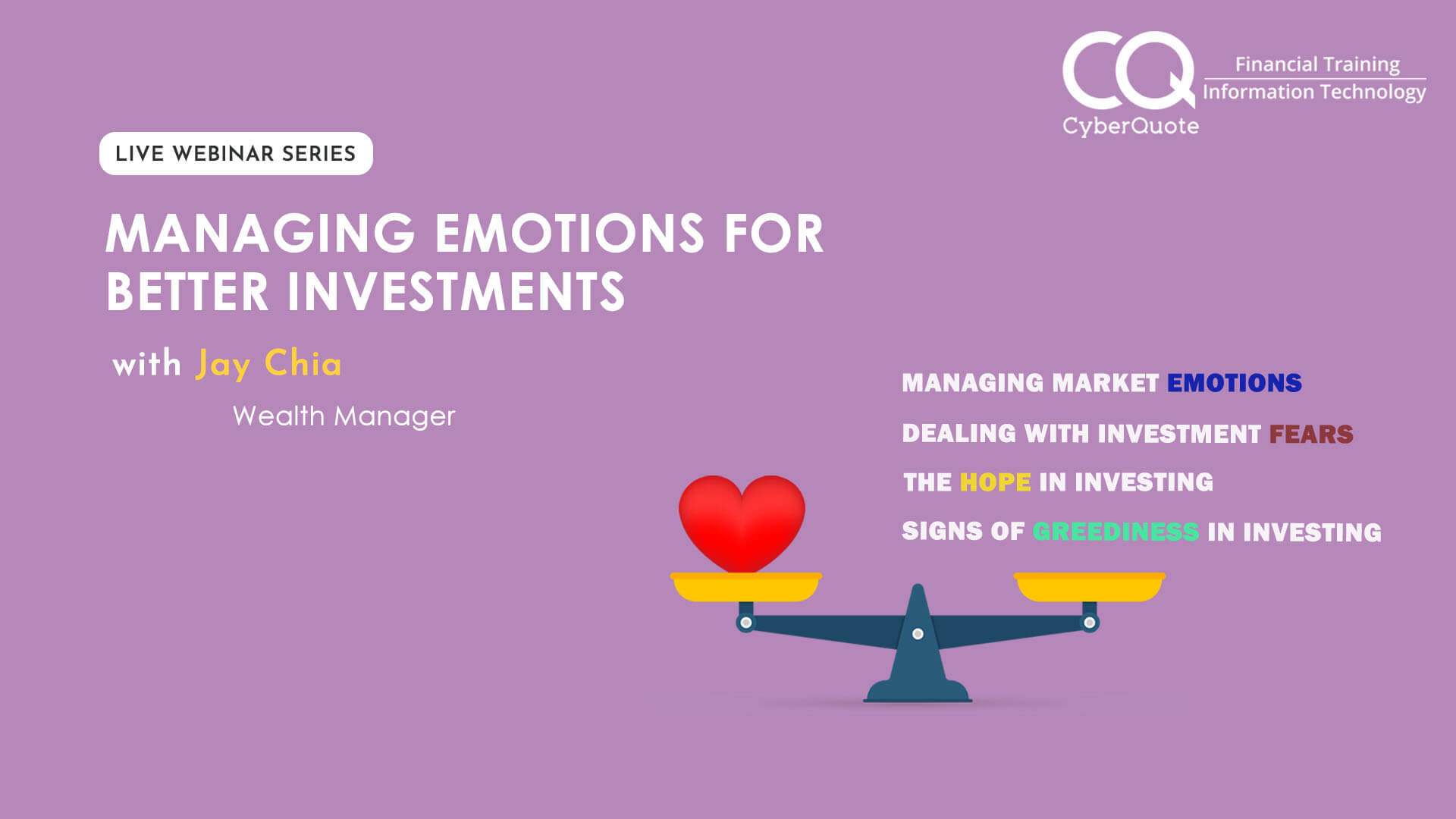 Managing Emotions for Better Investments 2 Digital Links Cover