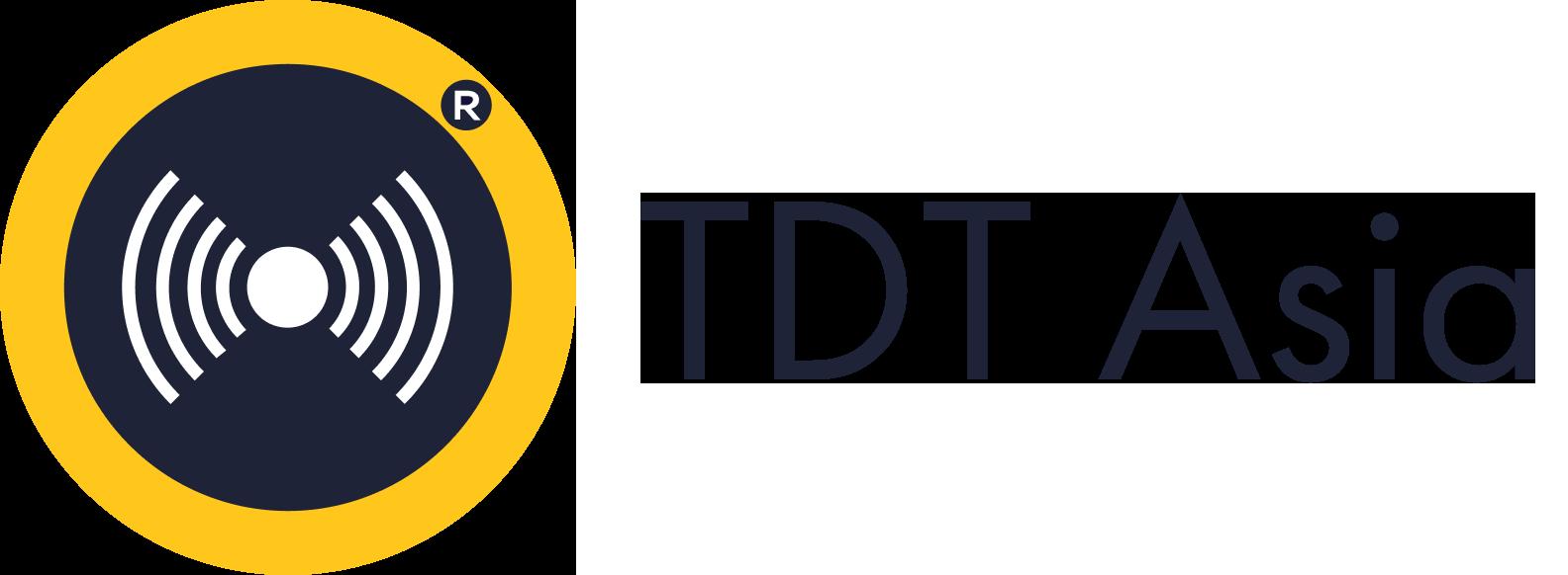 TDT Asia Logo ngang