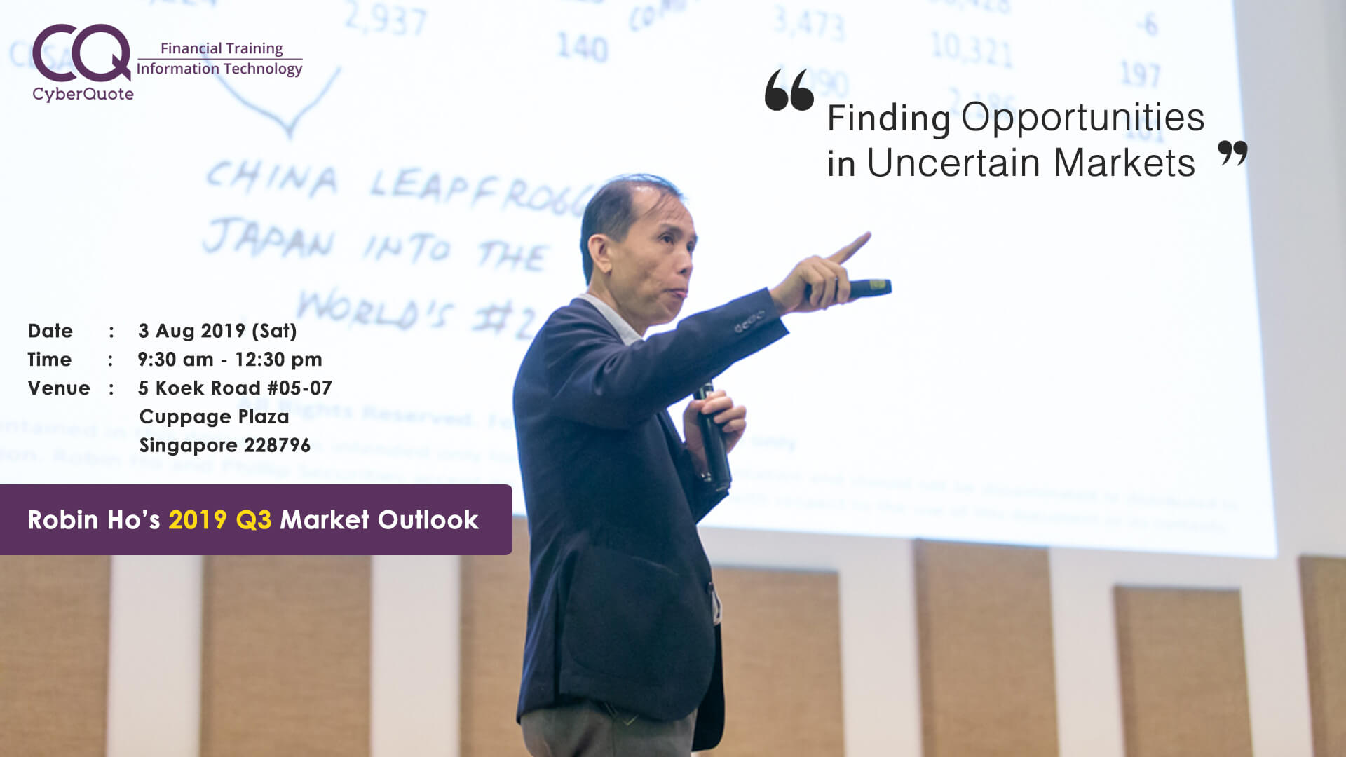 Robin Ho Market Outlook 2019 Q3 FB Event B Side Cover