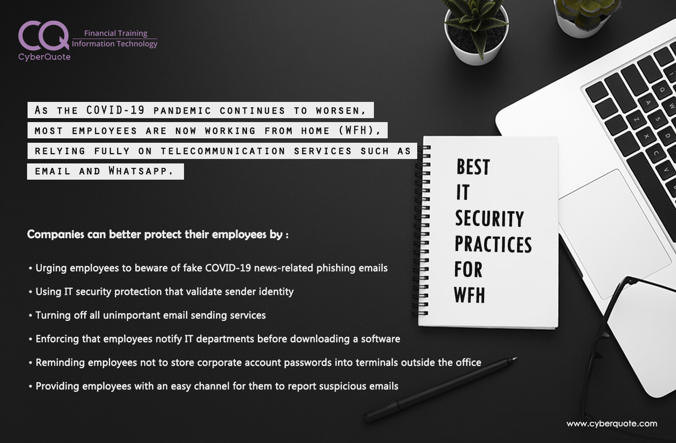 Best IT Security Practices for WFH