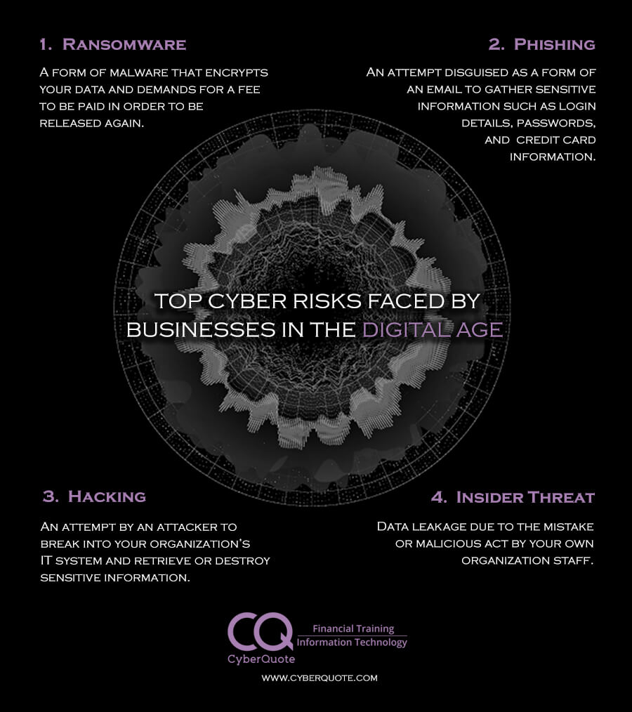 Top Cyber Risks Faced by Businesses in the Digital Age