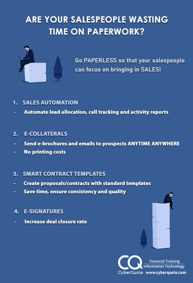 Are Your Salespeople Wasting Time on Paperwork