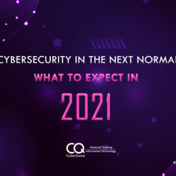 Cybersecurity in the Next Normal Thumbnail