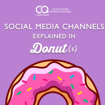 Social Media Channels Explained in Donuts Thumbnail