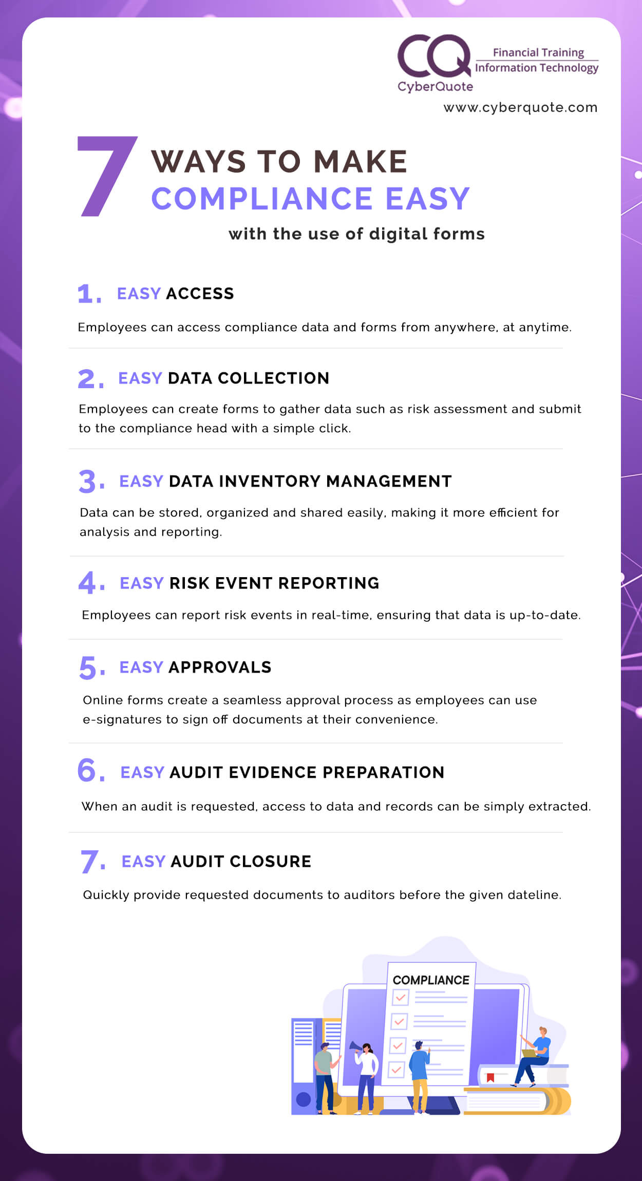 7 Ways to Make Compliance Easy