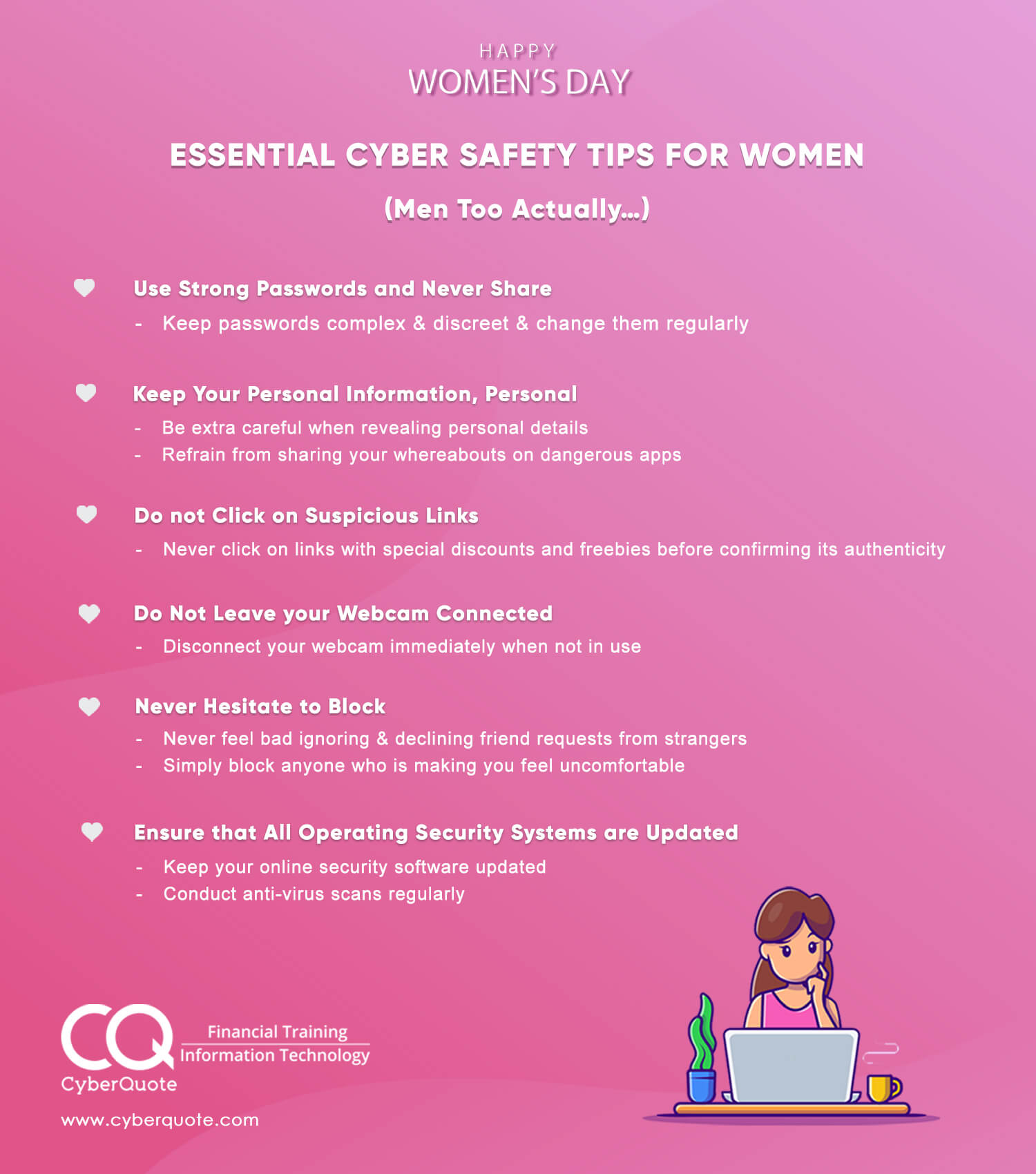 Essential Cyber Safety Tips for Women