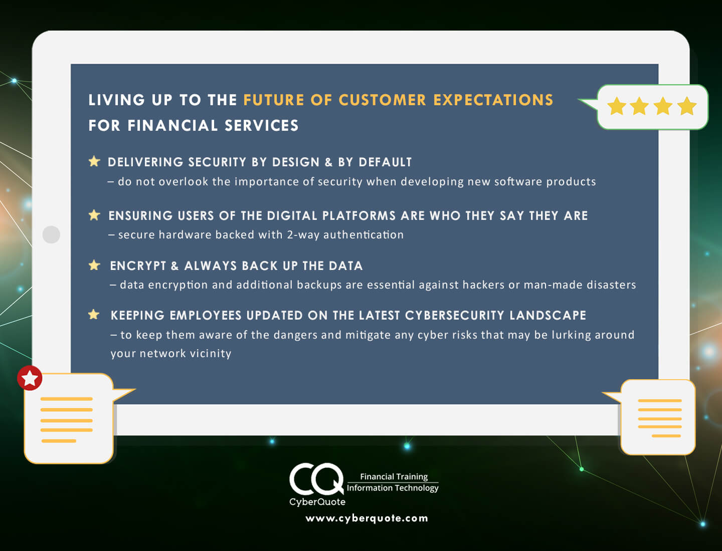 Living Up To The Future of Customer Expectations for Financial Services